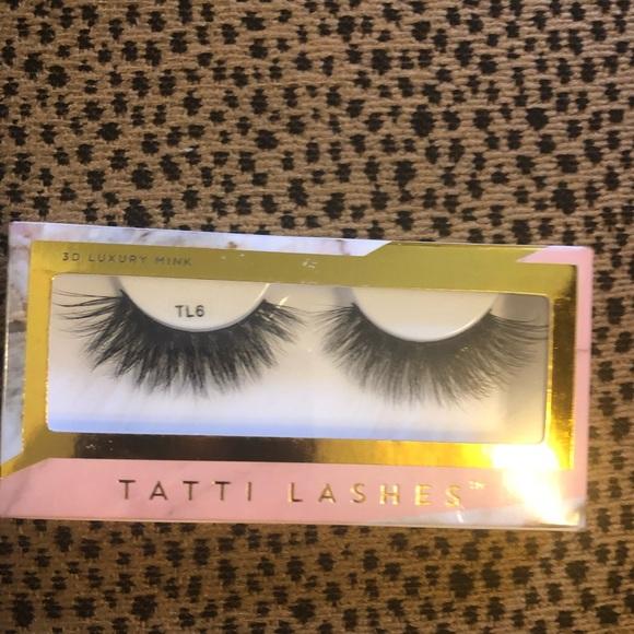 5eb1f9e9343 Makeup | New Tatti Lashes Tl6 Mink Lashes | Poshmark